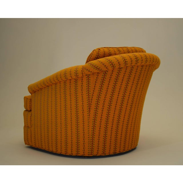 Mid 20th Century 1960s Kay Lambeth for Erwin-Lambeth Club Lounge Bucket Chair For Sale - Image 5 of 10