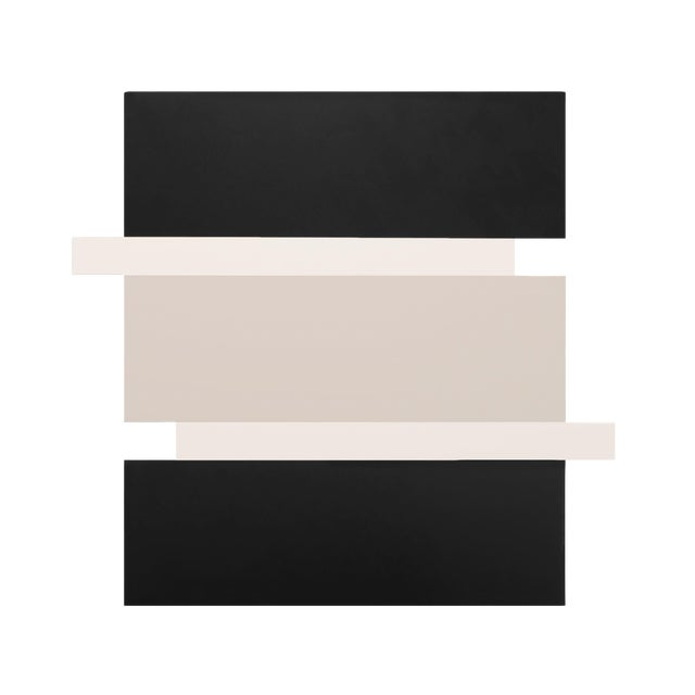Scot Heywood, 'Stack - Black, White, Canvas', 2016, Acrylic on Canvas For Sale