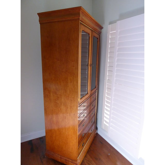 Mt. Airy Display Armoire Cabinet - Image 7 of 11