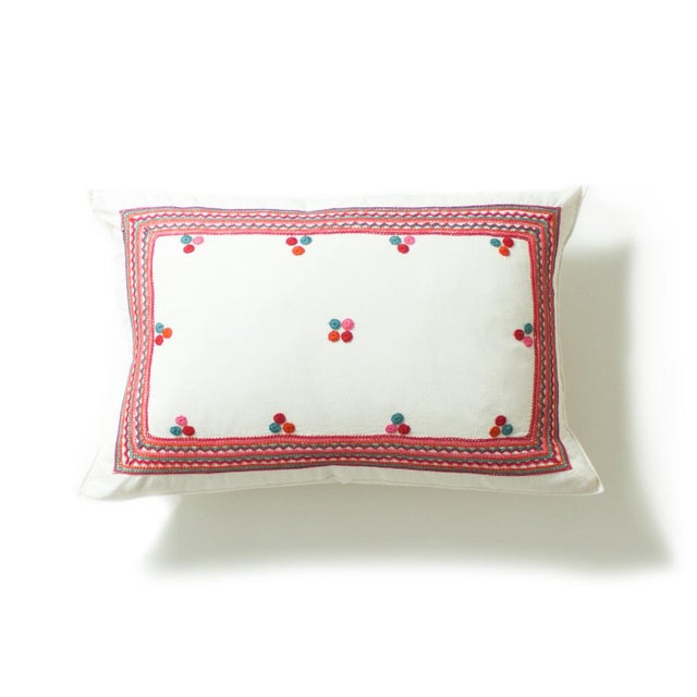 Chiapas Embroidered Pillow - Image 2 of 4