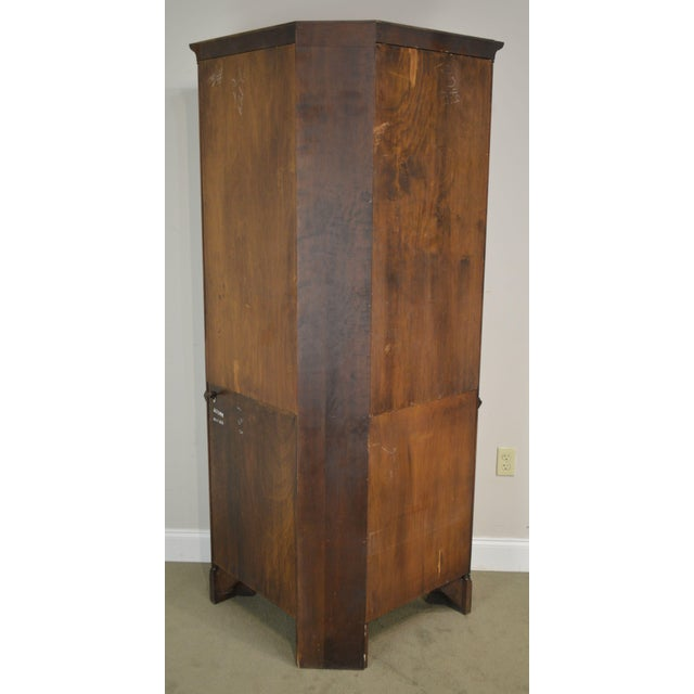 Traditional Statton Old Towne Cherry Traditional Corner Cabinet For Sale - Image 3 of 12