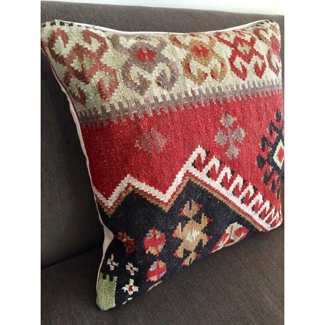 Pottery Barn Kilim Pillow - Image 4 of 7