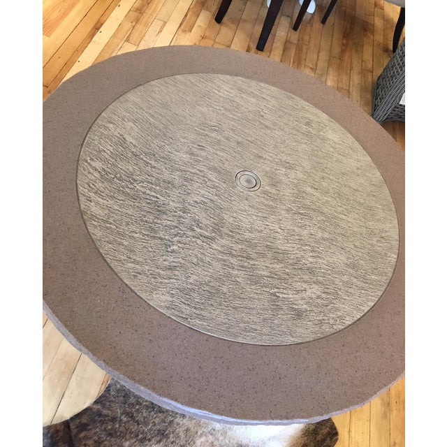 Lane Venture South Hampton Outdoor Dining Table Showroom Sample - Image 3 of 4