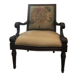 Sam Moore French Style Vintage Arm Chair For Sale