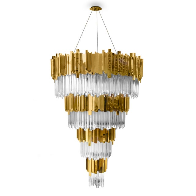 Empire Chandelier From Covet Paris For Sale - Image 6 of 6