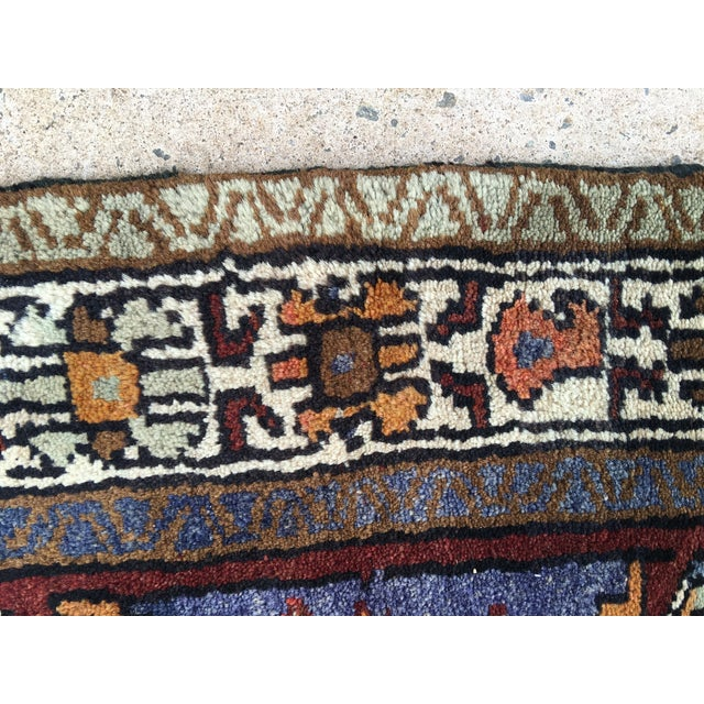 Thick and Heavy and Hearty Persian Kourdish Rug - 3′5″ × 6′5″ - Image 9 of 9