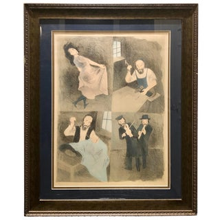 "Raphael Soyer Signed Copy of ""The Tailors Worked"" (1970) For Sale"