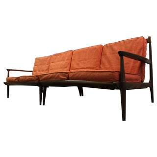 Mid-Century Danish Modern Two Piece Sectional Sofa For Sale