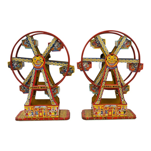 Antique Hercules Ferris Wheels - A Pair - Image 1 of 8