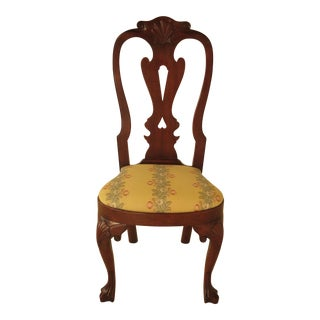 Kittinger CW-146 Colonial Williamsburg Mahogany Queen Anne Chair For Sale