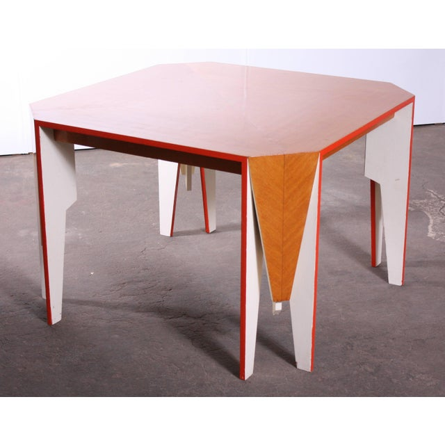 Modern Architectural Dining Table - Image 3 of 8