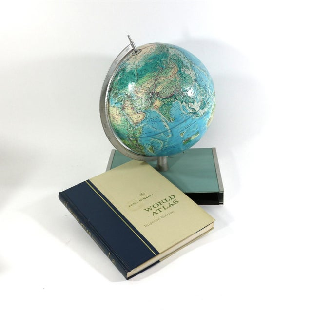 1960s Rand McNally New World Portrait Globe Set - Image 4 of 7