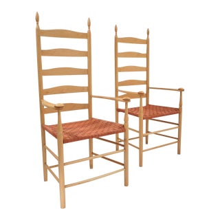 Shaker Elder's Chair - a Pair For Sale