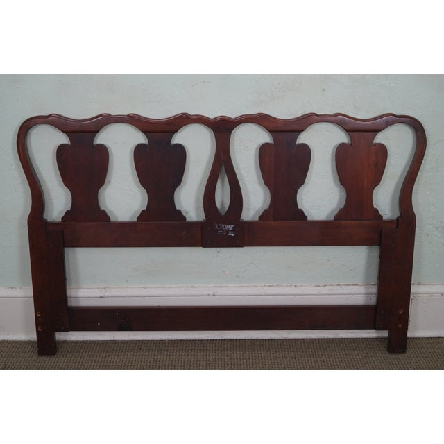 Statton Solid Cherry Queen Size Headboard - Image 4 of 10