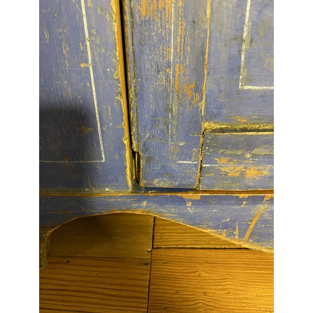 Antique Swedish Commode or Chest With Original Paint For Sale - Image 9 of 13