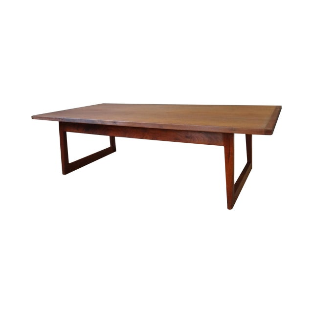 Jens Risom Mid Century Coffee Table - Image 1 of 6