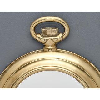 Vintage Brass Pocket Watch Mirror Preview