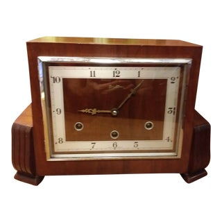 1960s Vintage Bentima Westminster Mantel Clock For Sale