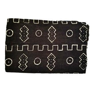 Boho Chic Black and White Mud Cloth Throw Fabric