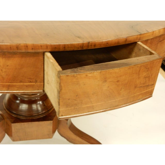 19th C. Northern European Center Hall Table For Sale In New Orleans - Image 6 of 7