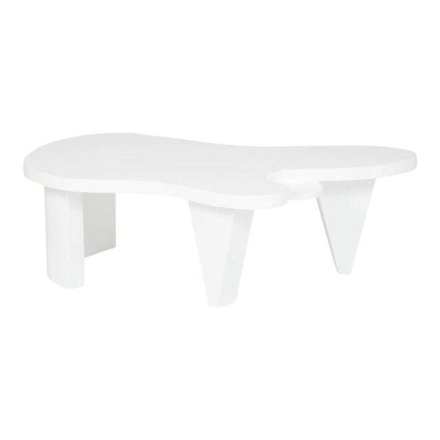Contemporary Customizeable Minimalist Amorphous Coffee Table For Sale