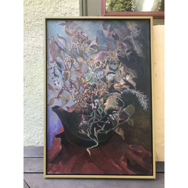 Canvas 1969 Oil Painting by Paul Schlafly, Framed For Sale - Image 7 of 7