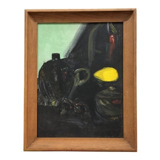 Painting - Vintage Abstract Still Life For Sale