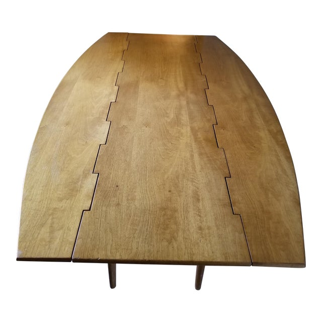 Barney Flagg for Drexel Parallel Drop Leaf Dining Table - Image 1 of 8