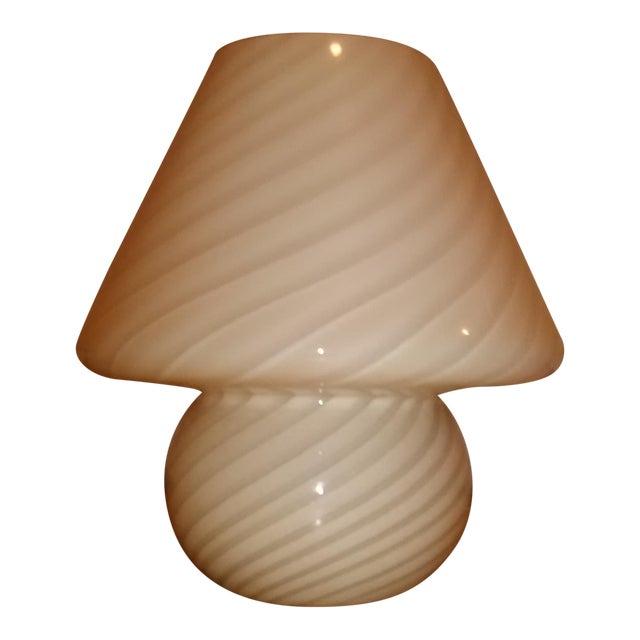Vintage Murano Mushroom Lamp - Image 1 of 5