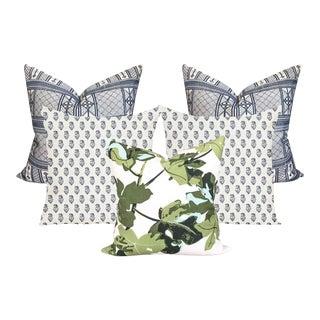 Peter Dunham Outdoor Pillow Cover Bundle - Set of 5 For Sale