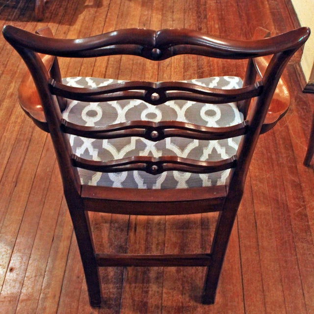 Chippendale Dining Chairs - Set of 8 For Sale - Image 4 of 9