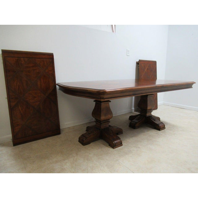 Ethan Allen Tuscan Coffee Table: Ethan Allen Tuscany Conference Banquet Dining Room Table