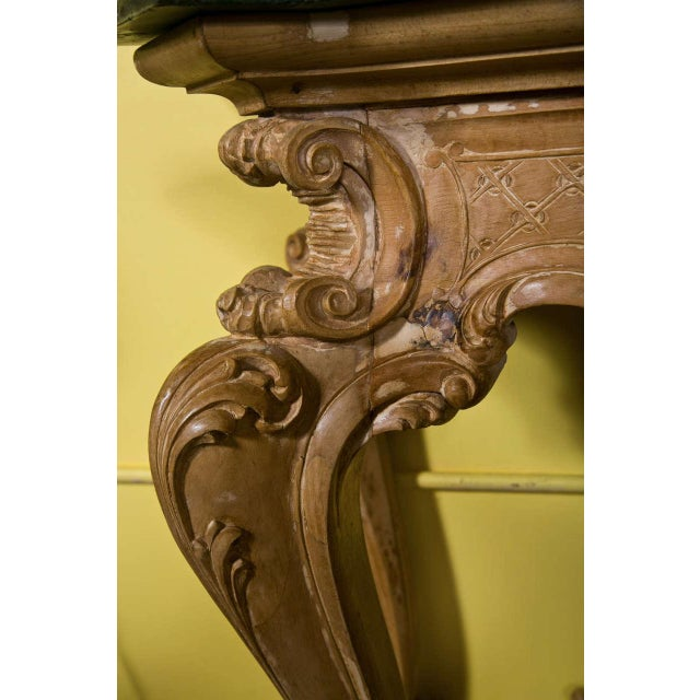 French Baroque Style Consoles by Jansen - A Pair For Sale - Image 5 of 7