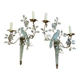 Image of 1930 French Bird Sconces - a Pair For Sale