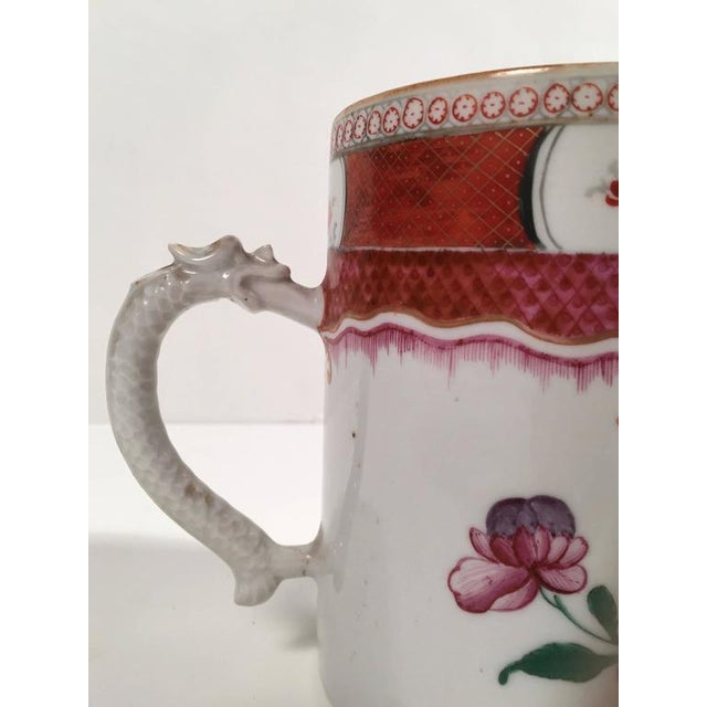 Chinese Export Famille Rose Porcelain Mug - Image 6 of 9
