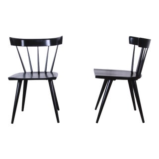 Paul McCobb Ebonized Planner Group Dining Chairs - Set of 10 For Sale
