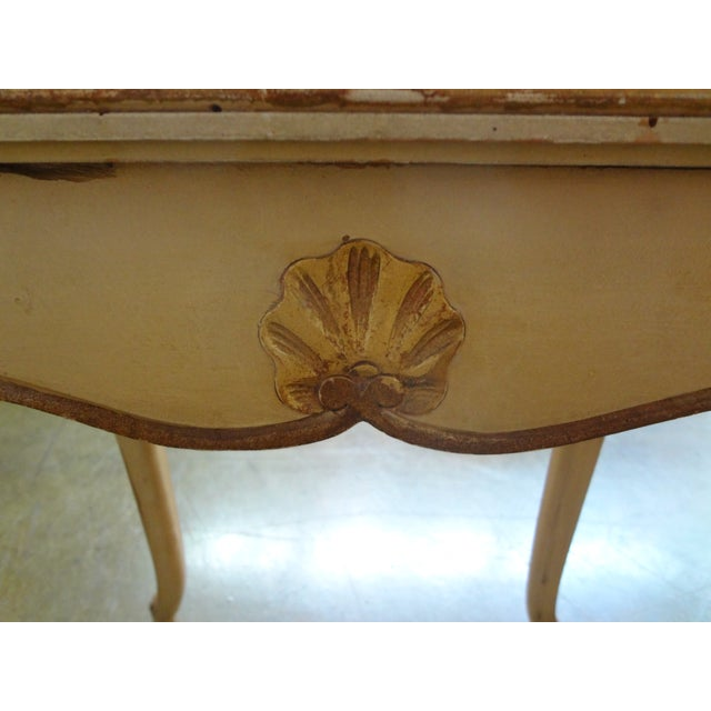 French Gilt Decorated Drinks Side Table - Image 3 of 5