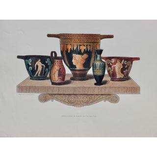 Figurative Poster, Poster of Roman Objects For Sale