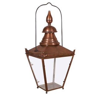 French Copper Lantern For Sale