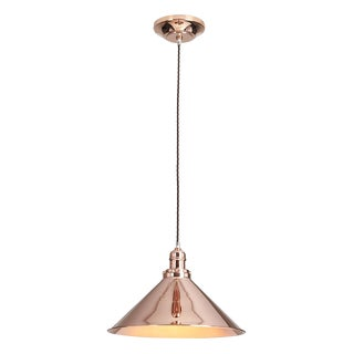 Provence Pendant Polished Copper For Sale