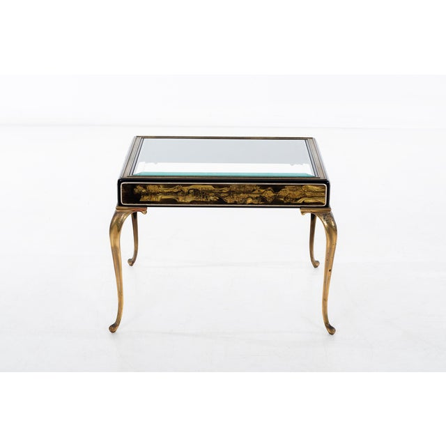 American Classical Bernhard Rohne for Mastercraft Side Table For Sale - Image 3 of 9