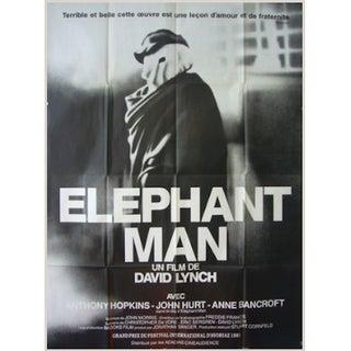 Original Elephant Man Movie Poster, 1980