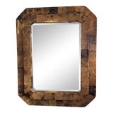 Image of Duel Tiered Tortoise Shell Mirror For Sale