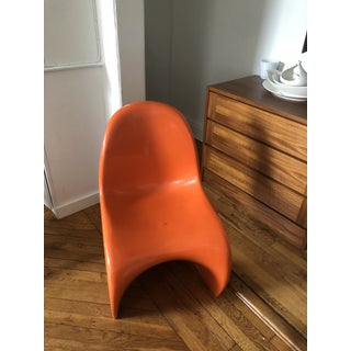 1970s Vintage Verner Panton for Herman Miller Chair Preview