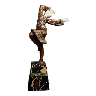 Early 20th Century Antique Solange Bertrand Sculpture For Sale