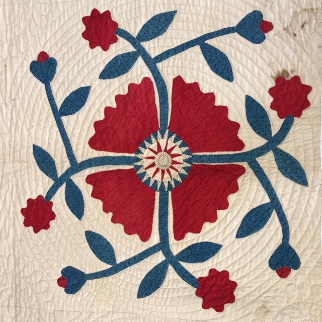 Vintage American Classic Quilt - Image 4 of 9