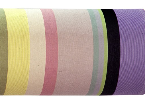 Les Toiles Du Soleil France saint colomb les toiles du soleil striped french linen fabric | chairish