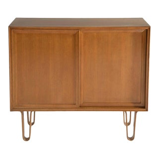 EDWARD WORMLEY FOR DUNBAR CABINET ON HAIRPIN LEGS, MODEL 4604