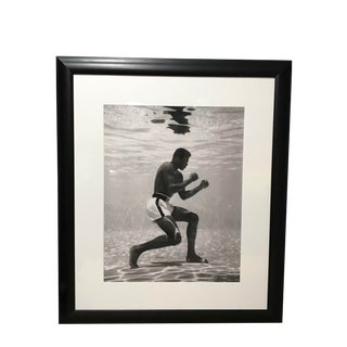 Americana Photography, Ali Underwater by Flip Schulke - Framed For Sale