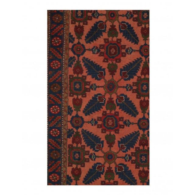 2010s Pasargad Rust Persian Hand Knotted Lilihan Runner For Sale - Image 5 of 7